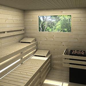 damit das holzhaus lange lebt die richtige pflege f r. Black Bedroom Furniture Sets. Home Design Ideas