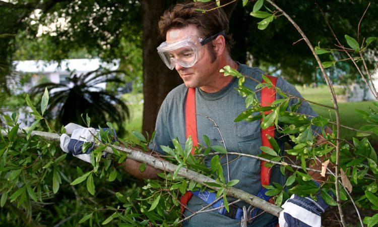 Arbeitssicherheit Gartenarbei Arbeitsschutz